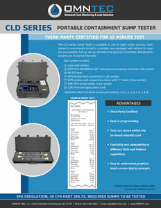 Omntec CLD Series Product Brochure