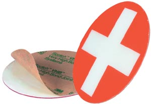 1TAG-7000 OPW Vapor Recovery Spill Cover ID Tag.
