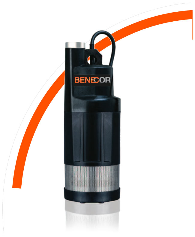 SS34 Benecor 3/4hp DEF Submersible Pump w/ - (3) Impeller Pump - Installs in Fixed Horixzontal or Vertical Position
