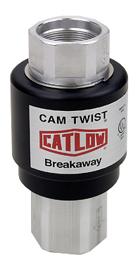 CTMVA Catlow Reconnectable Cam Twist Magnetic Vapor Vac Breakaway.