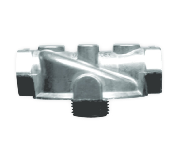 50181 Cim-Tek Aluminum Adapter for 200E,250E,260,and 300 Series 3/4