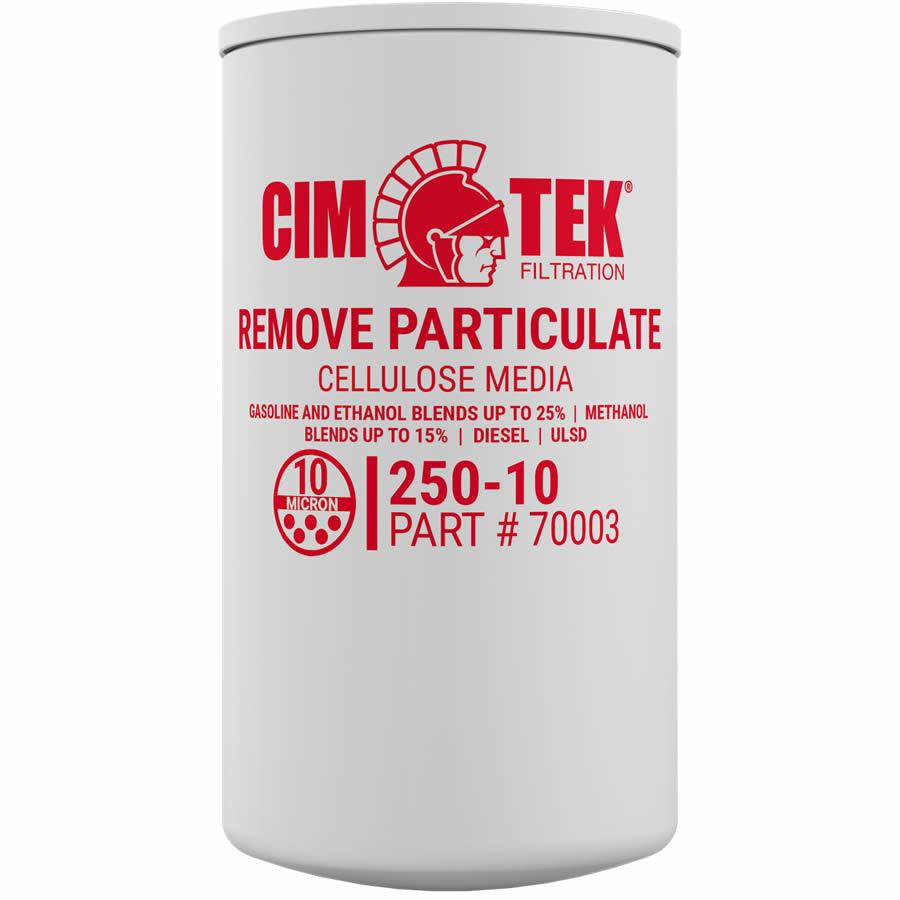 70003 Cim-Tek Model 250-10 10 Micron Filter