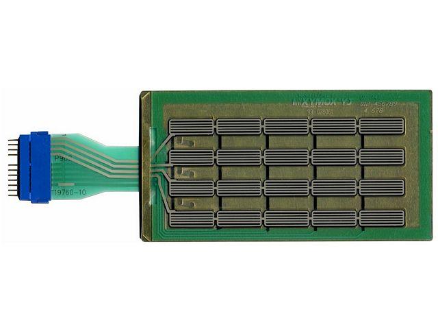 203-0402 Esco Gilbarco CRIND Vented Membrane Keypad. - OEM: T19760-10