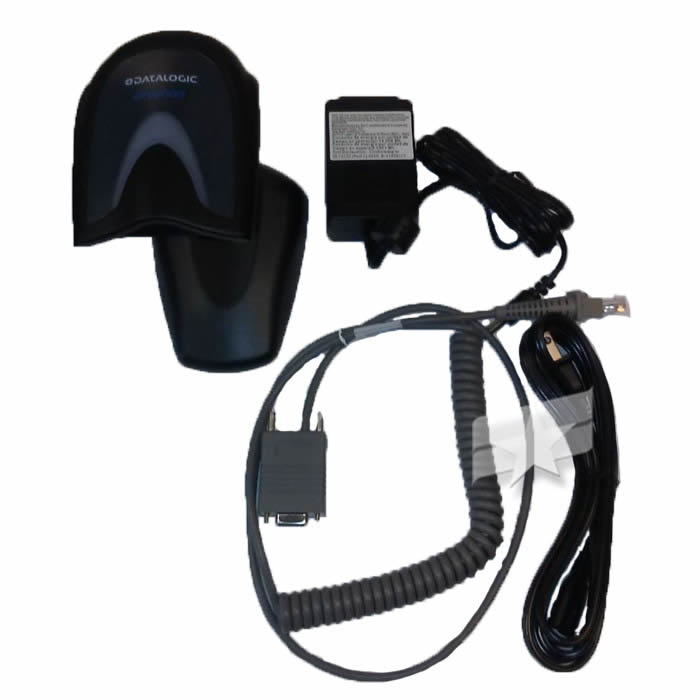 F/E-GD4590-PASSPORT Freedom Electronics Gilbarco Passport Datalogic Gryphon 2D Scanner w/ - 90A051330 Cable - Base - Power Supply