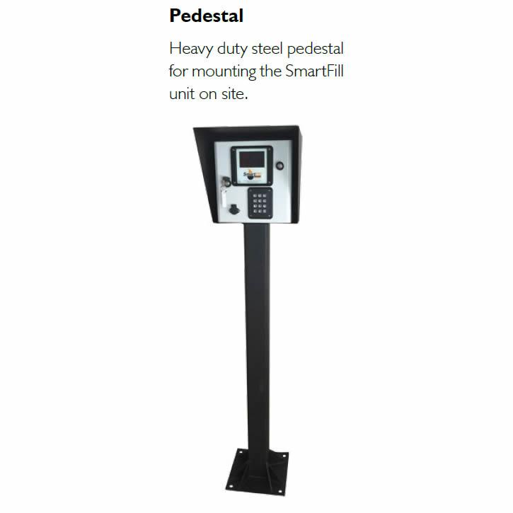 SF2-Ped Fluid MT SmartFill Gen2 Console Pedestal