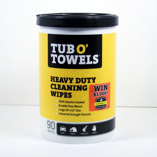 TW90 Federal Process 90-Towel Canister Work Sav'R Tub O'Towels.