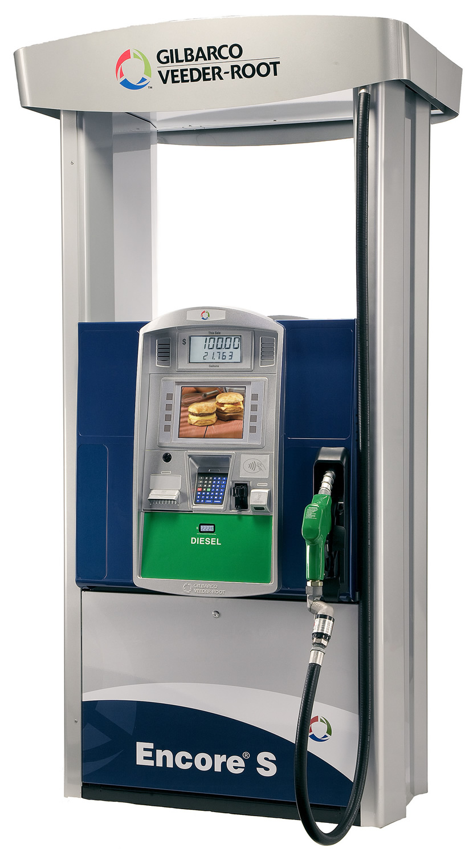 ENCORE-UHF Gilbarco Encore S Ultra-Hi Flow Diesel Dispenser.