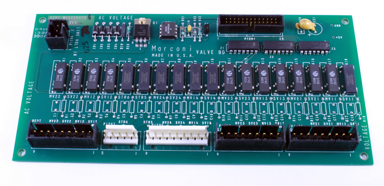 M00059A002 Gilbarco Valve Driver Board -- Price Includes Cost Of Core Which Will Be Refunded Upon Return Of A Rebuildable Core --