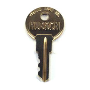 Q10898-115 Gilbarco Brass Key for Cylinder Lock.