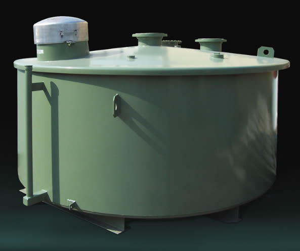 HT-FUEL-HOPPER Highland Tank Double Wall Aboveground Fuel Hopper Tank