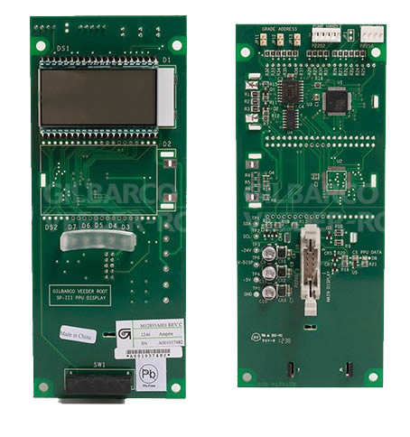 M12893A001 Gilbarco Encore 700S SPP-III PPU Display Single PCA Board. - For Dispensers Built AFTER November 2012                 --- Price Includes Cost Of Core Which Will Be Refunded Upon Return Of A Rebuildable Core                 ---