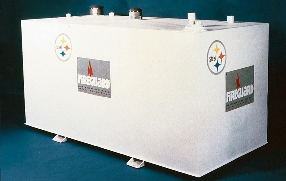 MW-10K8-FG-RECT Modern Welding 10,000 Gallon 84