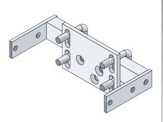 SBK-1800 OPW Flexworks Stabilizer Bar Kit for 1825/ 1836 / 1840 Dispenser Sump/Pan.