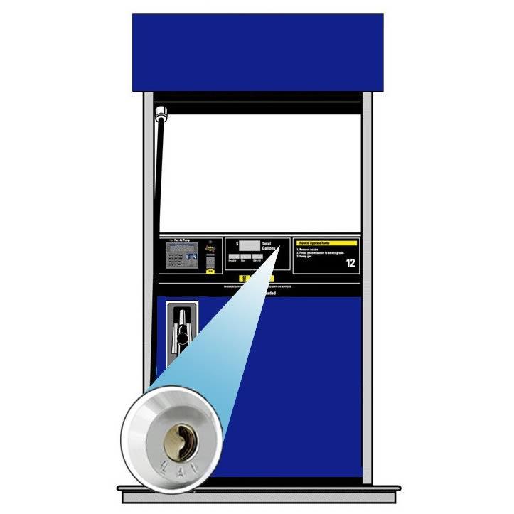 KIT-WVN-6000FD Petro Defense Wayne Vista 3 Narrow Bezel Door Kit - (2) Locks - (2) Latches - Keys Ordered Separately!!