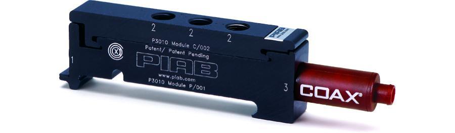 P3010.01.AE.02.AA.00 Piab 3010 Series Vacuum Generator Pump.