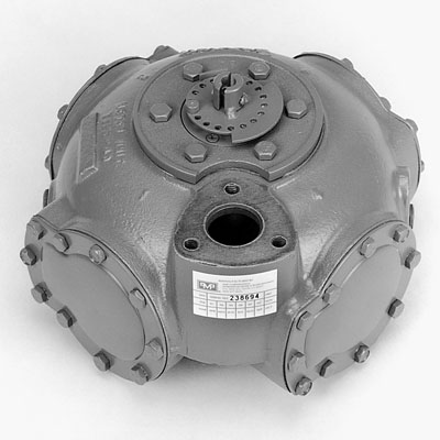 21001 PMP Rebuilt Bennett 4000 Meter w/ - Stamped Flat Disc Metal Adjustment Dials - OEM: H607001                 --- Price Includes Cost Of Core Which Will Be Refunded Upon Return Of A Rebuildable Core                 ---