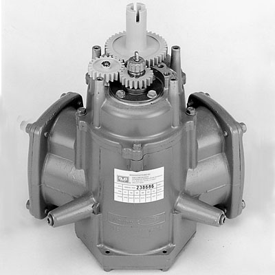 26002 PMP Rebuilt Wayne 2PM6 Meter w/ - (3) Mechanical Computer Units   - 20-Tooth Pinion Gear   - 22-Tooth Idler Gear   - 40-Tooth Drive Gear - Meters in US Gallons - OEM: 46378                 --- Price Includes Cost Of Core Which Will Be Refunded Upon Return Of A Rebuildable Core                 ---