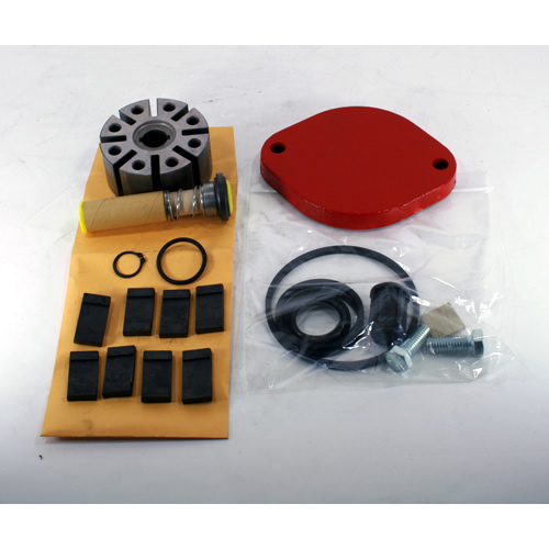 700KTF2659 Tuthill Fill-Rite 700 Series Pump Repair Kit w/ - (1) Lathe Cut Nitrile Strainer Cover Gasket - (1) Machined Pump Rotor - (8) Carbon Epoxy Impregnated Vanes - (1) 030 Flourcarbon Outlet Flange O-Ring - (1) Rotor Cover Lathe Cut Nitrile Gasket - (1) 120 Flourocarbon O-Ring - (1) Inner Carbon Seal - (1) 114 Flourocarbon O-Ring - (1) Seal Ring - (1) Inner Seal - (1) Spring Seal - (1) Shaft Washer - (1) 5/8 External Retaining Ring - (1) Rotor Key - (1) Inlet Lathe Cut Nitrile Gasket - (1) Bypass Poppet - (1) 121 Nitrile O-Ring