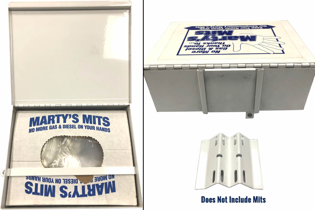 Marty's Mits Metal Box